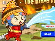 Brave Firefighter Game