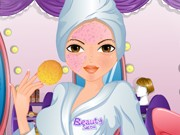 Beauty Salon Makeover Game
