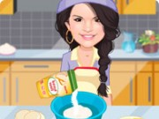Selena Gomez Cooking Cookies Game