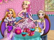 Princess Bridesmaid Tea Party Game