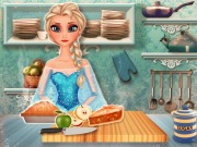 Elsa Apple Pie Game
