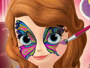 Sofia The First Face Painting Game