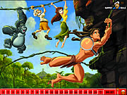Hidden Numbers Tarzan Game