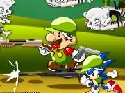 mario sonic zombie killer spiel