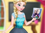 Elsa Leaves Jack Frost Game