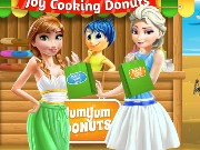 Joy Cooking Donuts Game