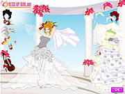 My Wedding Day Dressup Game