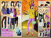 Autumn in the Park Dress Up Game