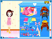 Little Doll Girl Dressup Game