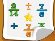 Brain Racer Fractions Game