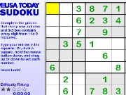 USA Today Sudoku Game