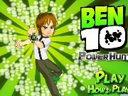 Ben10 Power Hunt Game