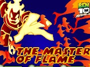 Ben 10 The Master Of Flame Game