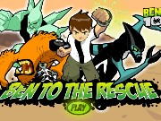 Ben 10 Ben To The Rescue Game