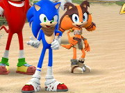 Sonic Boom Link Game