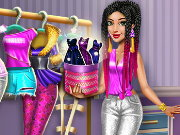 Tris Fashionista Dolly DressUp Game