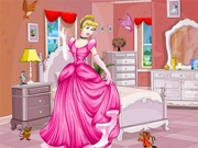 Cindrella Princess Room Decor Game