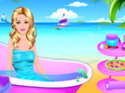 Princess Beach Spa and Party Game