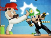 Mario Street Fight Game