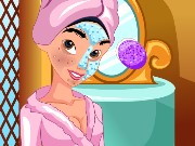 Princess Jasmine Makeover Game