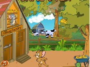 Tom And Jerry Cheese Factory Game