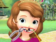 Sofia The First Dental Care Game
