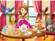 Sofia The First Tea Party Game