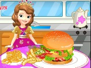 Sofia The First Cooking Hamburgers Game