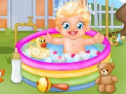 Baby Lizzie Outdoor Bathing Game