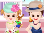 Cute Twins DressUp Game