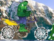 Hulk Snow Ride Game