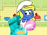 Smurfette Raspberry Cookie Bars Game