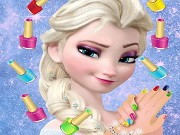 Elsa Royal Manicure Game