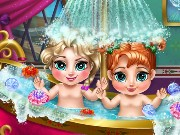 Frozen Baby Bath Game