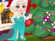 Elsa Christmas Slacking Game