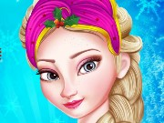 Princess Elsa Christmas Prep Game