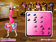 Flamenco Dancer Dressup Game