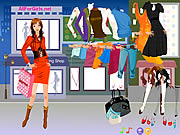 Hot Fashion Shopping Girl Game