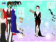 Gown Purse Dress Up Game