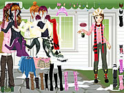 Girl Waiting Dressup Game