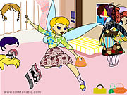 Tinkerbell Dress up 1 Game