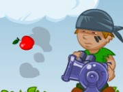 Apple Cannon Game