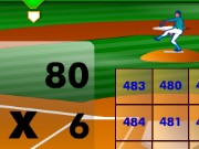 Base Ball Math Multiplication Edition Game