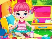 Cute Baby Picnic Game