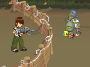 Ben 10 Kills Zombies Game