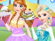 Princesses Ice Cream Deco Game