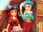 Pirate Girls Garderobe Treasure Game