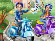Princess Scooter Ride Game