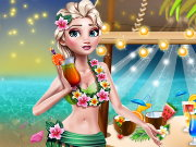 Princess Hawaiian Themed Party Game
