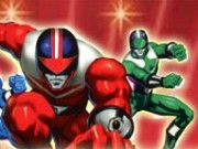 Power Rangers Cartoon Hero Game